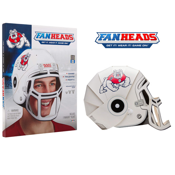Fresno State Bulldogs FanHeads packaging