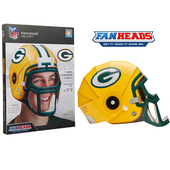 Green Bay Packers FanHeads packaging