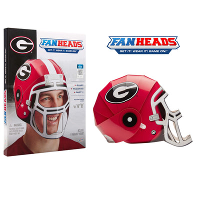 Georgia Bulldogs FanHeads packaging