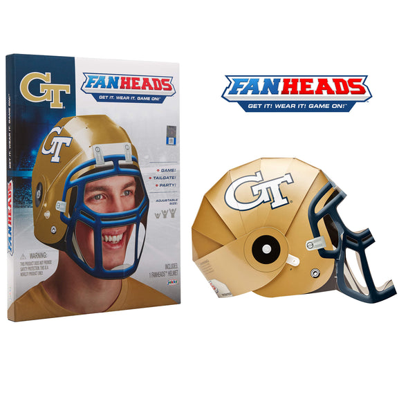 Georgia Tech Yellow Jackets FanHeads packaging
