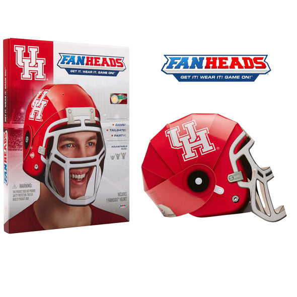 Houston Cougars FanHeads packaging