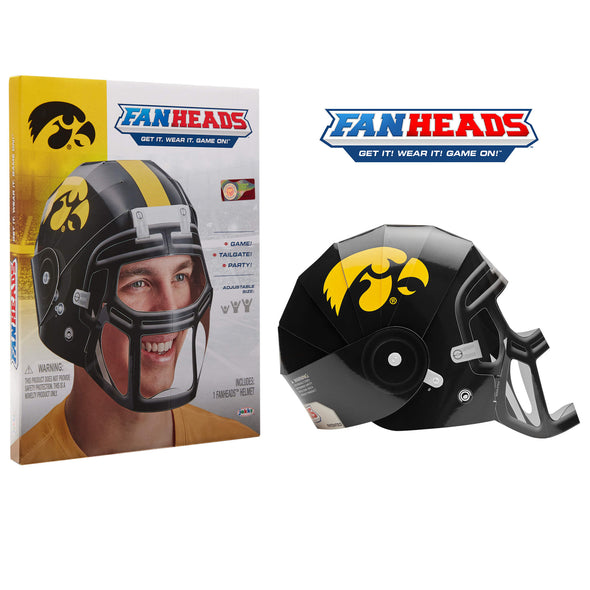 Iowa Hawkeyes FanHeads packaging