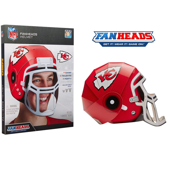 Kansas City Chiefs FanHeads packaging