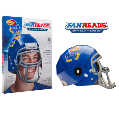 Kansas Jayhawks FanHeads packaging
