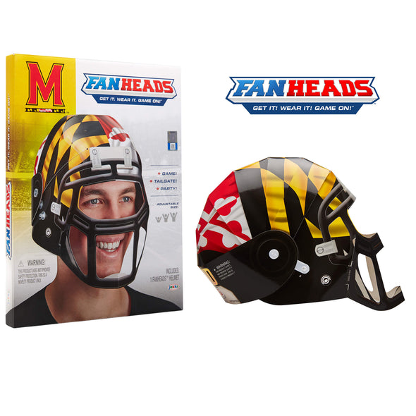 Maryland Terrapins FanHeads packaging