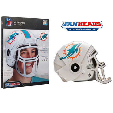 Miami Dolphins FanHeads packaging