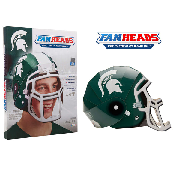 Michigan State Spartans FanHeads packaging