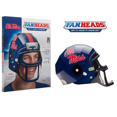 Ole Miss Rebels FanHeads packaging