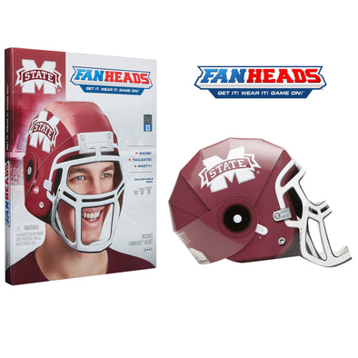 Mississippi State Bulldogs FanHeads packaging