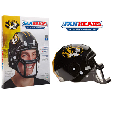 Missouri Tigers FanHeads packaging