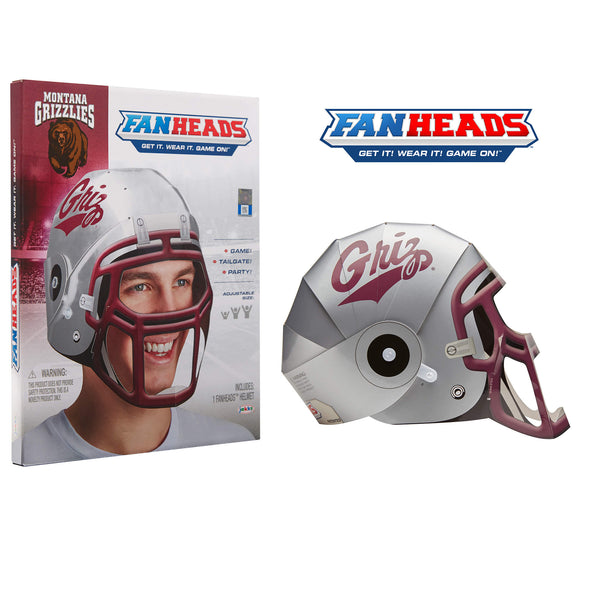 Montana Grizzlies FanHeads packaging