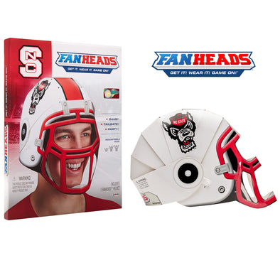 NC State Wolfpack FanHeads packaging