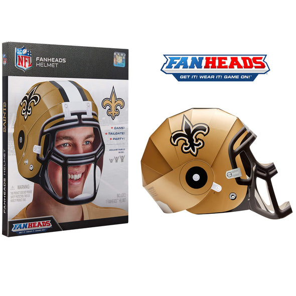 New Orleans Saints FanHeads packaging