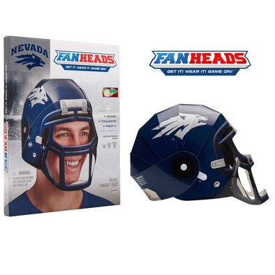 Nevada Wolf Pack FanHeads packaging