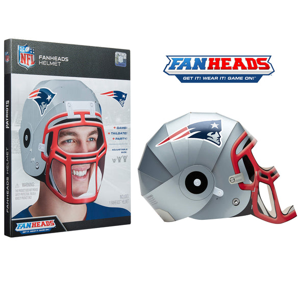 New England Patriots FanHeads packaging