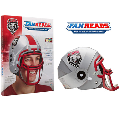 New Mexico Lobos FanHeads packaging