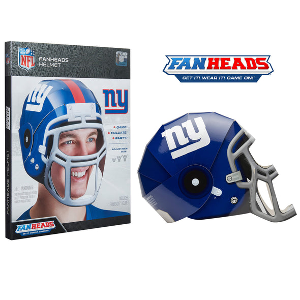 New York Giants FanHeads packaging