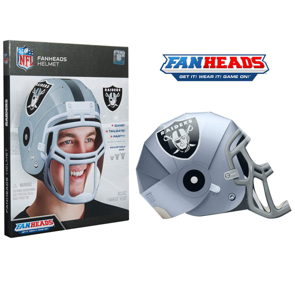 Las Vegas Raiders FanHeads packaging