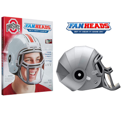 Ohio State Buckeyes FanHeads packaging