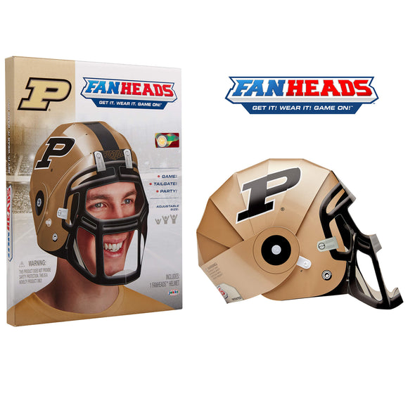 Purdue Boilermakers FanHeads packaging