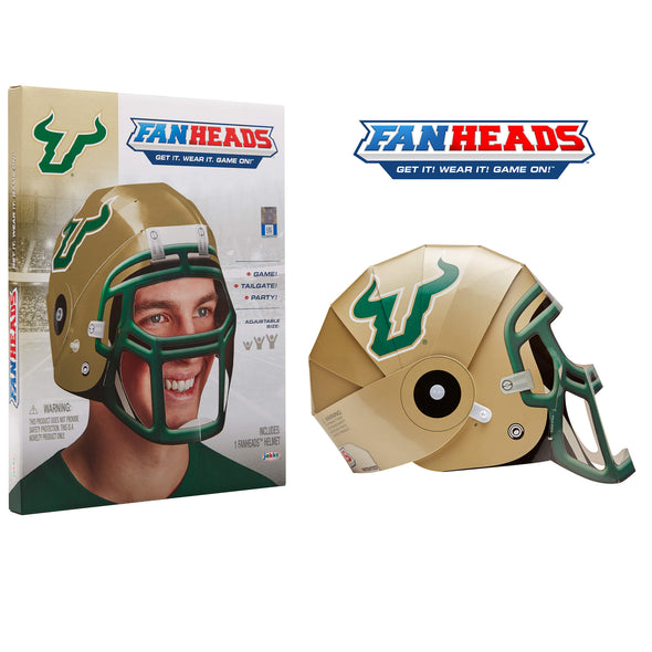 South Florida Bulls FanHeads packaging