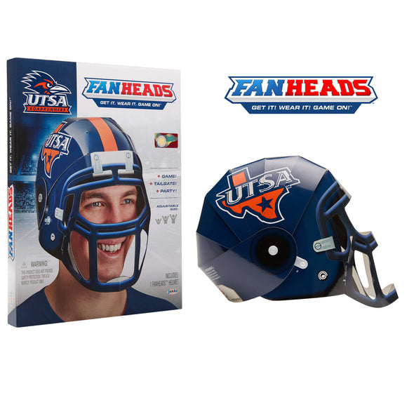 UTSA Texas Roadrunners FanHeads packaging
