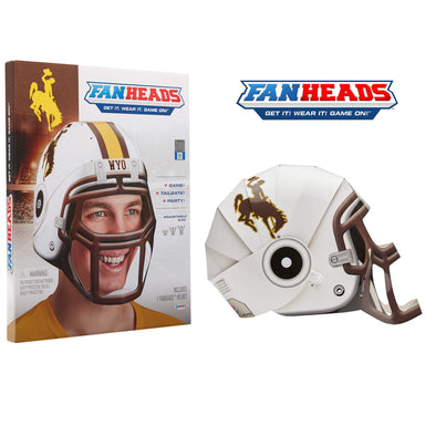 Wyoming Cowboys FanHeads packaging