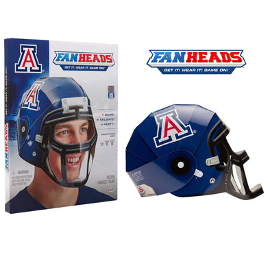 Arizona Wildcats Fanheads packaging
