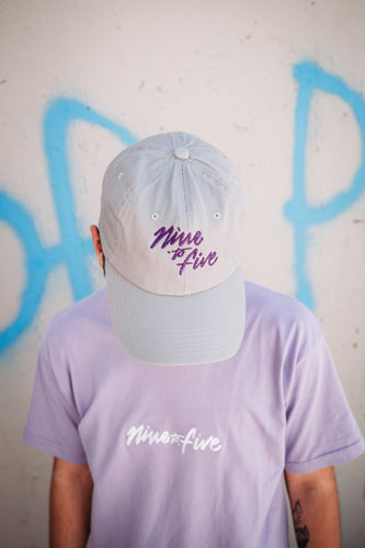 Grey Nine to Five Dad Hats