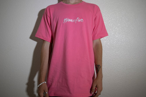 Nine to Five Pink/Salmon Tee