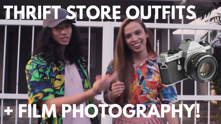 Ukay-Ukay (Thrift Store) Challenge! | Pentax ME + Lomography CN100