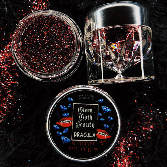 GLAM GOTH BEAUTY DRACULA GLAMPIRE DIAMOND GLITTER