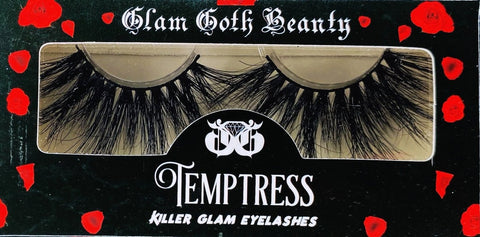 Glam Goth Beauty Temptress Eyelashes