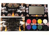 Glam Goth Beauty 7 Deadly Sins Eyeshadow Palette