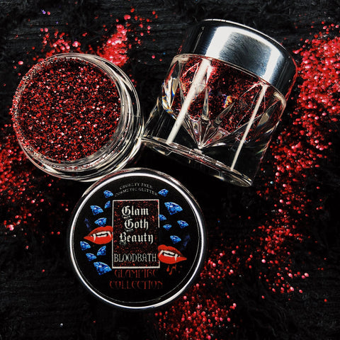 GLAM GOTH BEAUTY BLOODBATH GLAMPIRE DIAMOND GLITTER