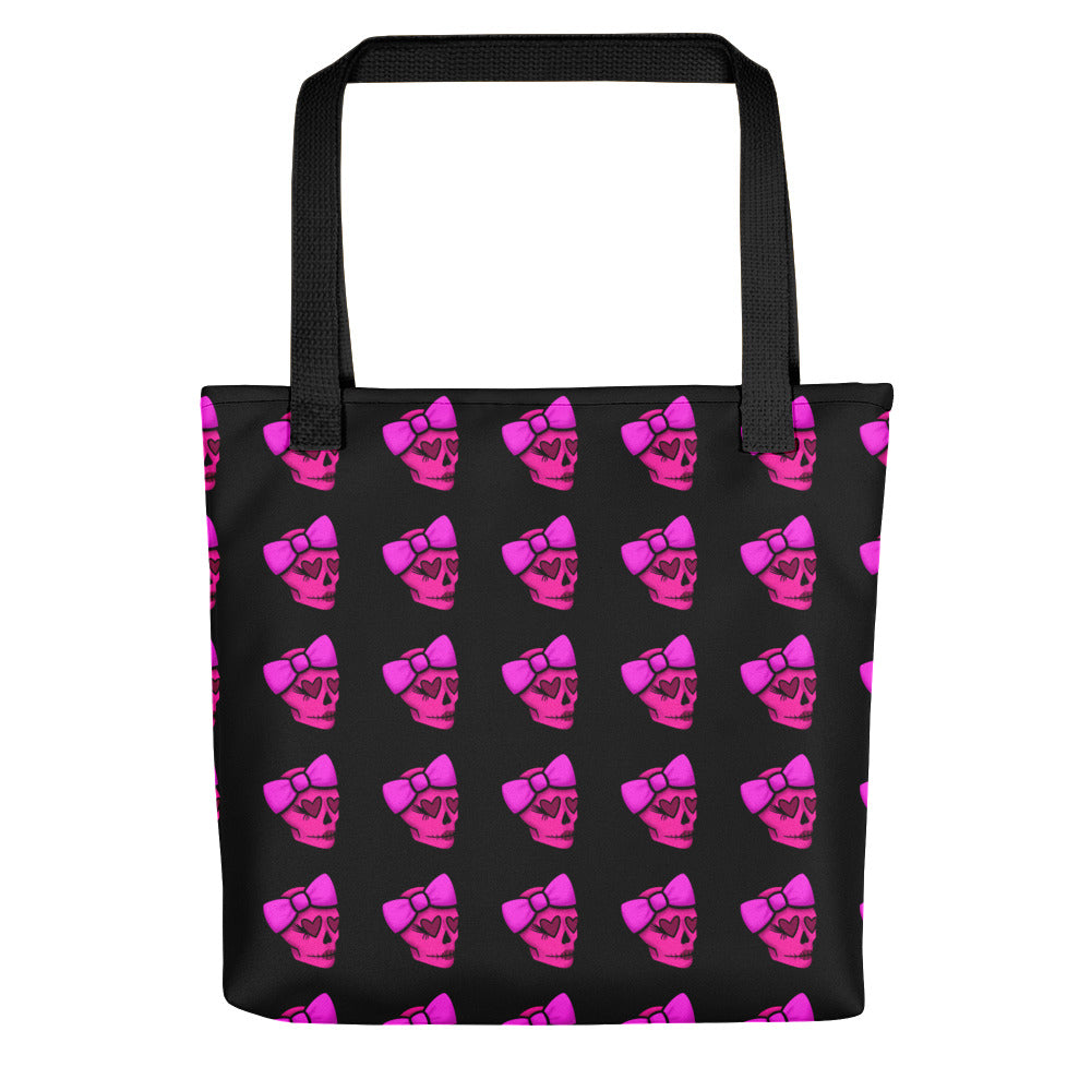 POISONED SKULL TOTE