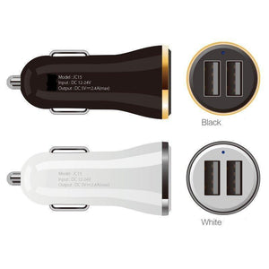Chargeur allume cigare voiture Double USB