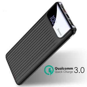 Batterie externe 10000 mAh Quick Charge 3.0