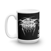 OBLIGATORY METAL COFFEE MUG