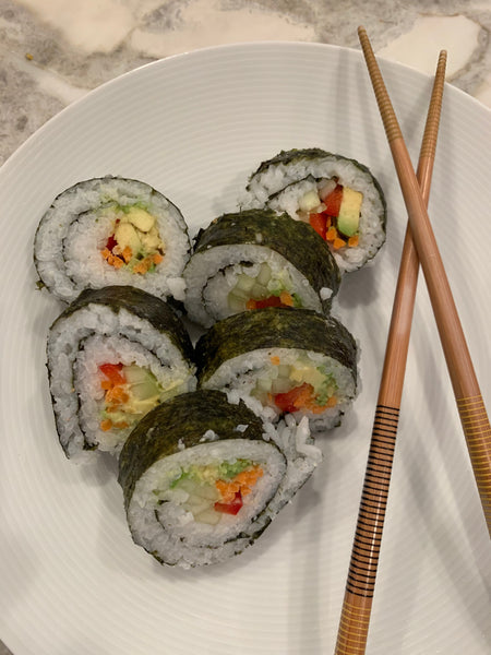 How to Make Veggie Sushi