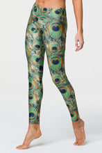 Load image into Gallery viewer, Onzie Long Legging - Peacock Green