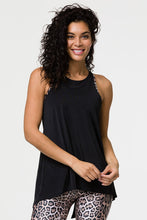 Load image into Gallery viewer, Onzie One Size Tie Back Tank- Black