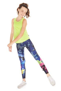 Terez Kids Leggings - Deep Sea (Multi Camo)