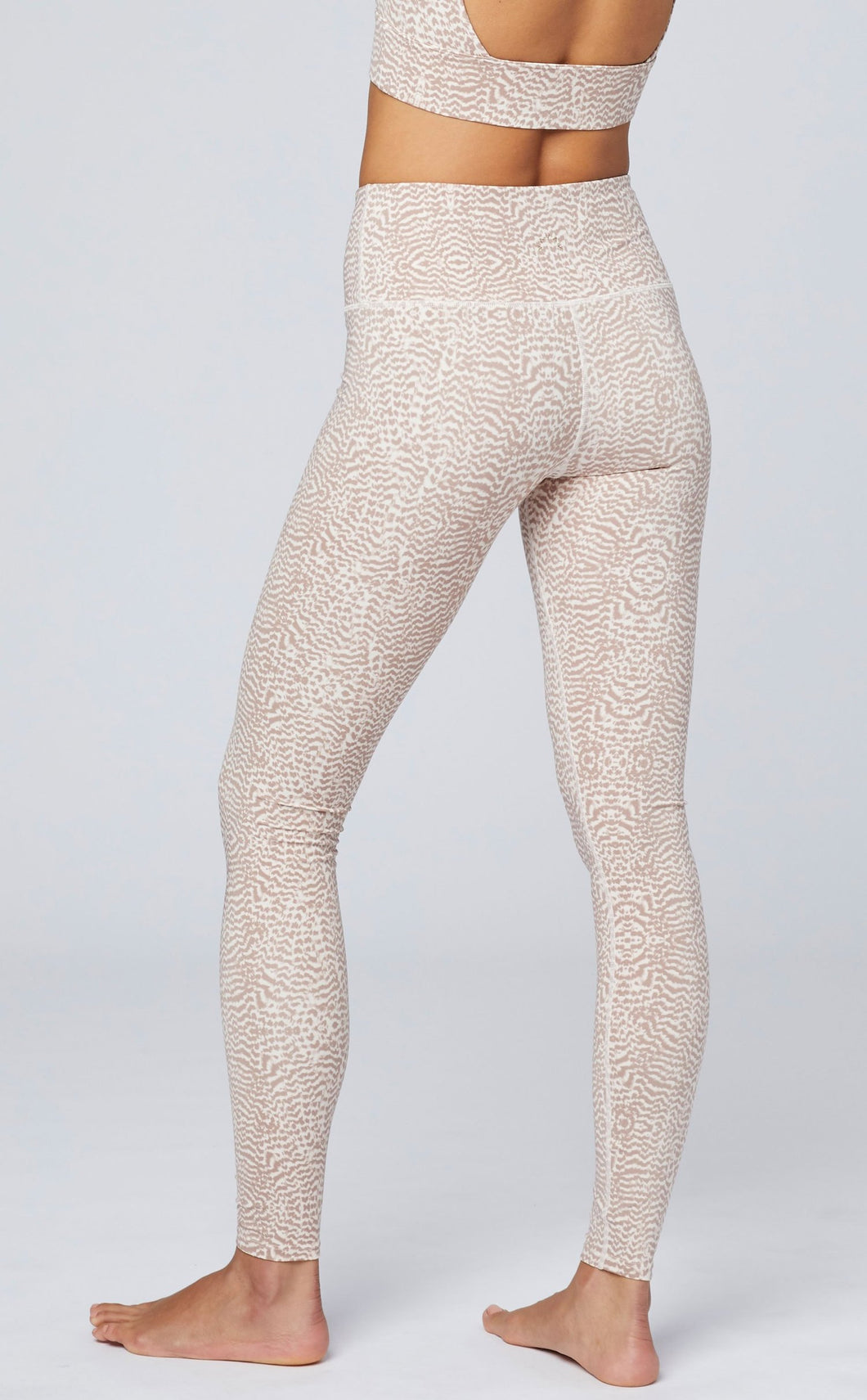 Varley Duncan Legging - Rose Feathers