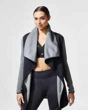 Load image into Gallery viewer, MICHI Dusk Wrap Jacket - Black