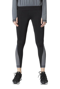 Vimmia Piper Mesh Wrap Legging - Black/ Castle