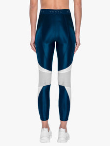 Koral Emblem Infinity High Rise Cropped Legging - Midnight Blue