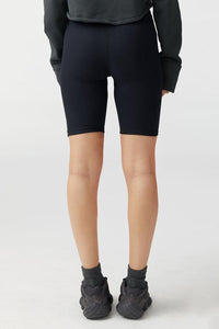 Joah Brown The Biker Short - Sueded Onyx