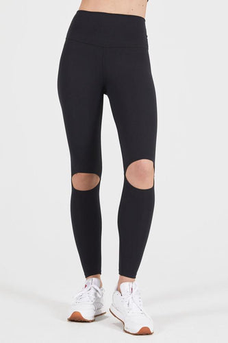 Joah Brown Cut Loose Legging - Sueded Onyx