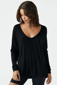 Joah Brown For Keeps O/S V Neck Sweater